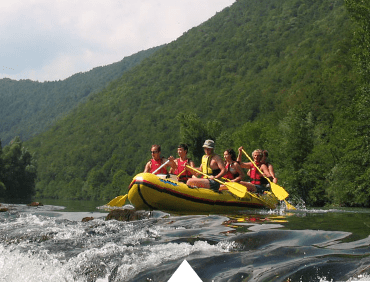 Rafting on Kolpa river